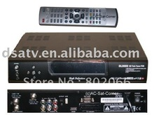 HD satellite receiver dvb-s2 DL9000 twin tuner sharing pvr usb(China)