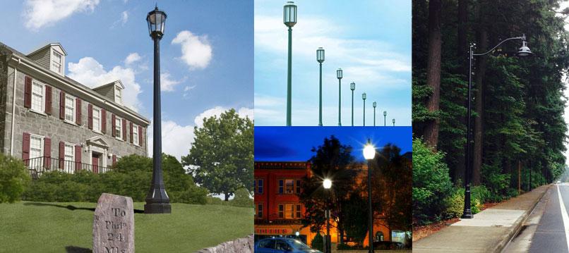 LED-Acorn-Post-Top-Retrofit-Lamps-applications