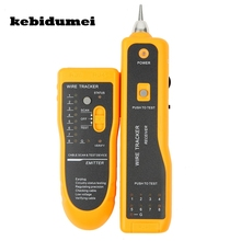 kebidumei JW-360 RJ45 Cat5 Cat6 Telephone Wire Tracker Tracer Toner Ethernet LAN Network Cable Tester Detector Line Finder(China)