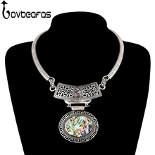 Buy LOVBEAFAS Fashion Maxi Statement Choker Necklaces & Pendants Jewelry Women Boho Collier Vintage Collar Natural Shell Necklace for $3.56 in AliExpress store