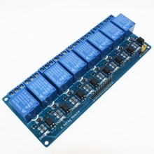 Free Shipping 8 channel 8-channel relay control panel PLC relay 5V module for arduino hot sale in stock.8 road 5V Relay Module(China)
