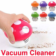 New Mini Home Handheld Tabletop Vacuum Cleaner Mushroom Vacuum Car Laptop Dust cleaner Dropshipping(China)