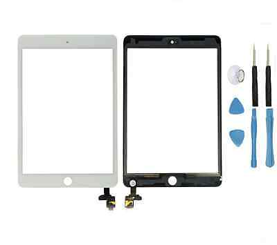 High Quality LCD Glass Touch Screen Digitizer Lens with Flex cable &amp; IC Chip Repair For iPad mini 3 A1599 A1600 A1601<br><br>Aliexpress