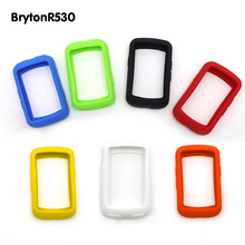 Colorful Silicone Skin Case Protective Cover for GPS Bicycle Computer Cover Sleeve for brytonR530/Garmin edge20/25/200(China)