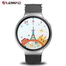 LEMFO I4 Smart watch Android 5.1 1.39 inch AMOLED 1GB RAM 16GB ROM Display support 3G WiFi GPS Clock Phone 2017 New arrival(China)