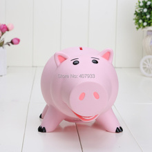 20cm Toy Story Hamm Piggy Bank Pink Pig Coin Box PVC Model Toys action figure toys