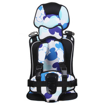 Kids Car Seats Protection 0-4 Years Old Baby Car Safety Seat,Portable and Comfortable Infant Safety Seat,Practical Baby Cushion(China)