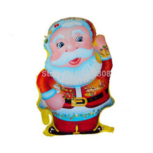 Christmas Santa Claus Foil Balloons Merry Christmas Decoration Ballons Children Christmas Inflatable Toy Helium Balloon Supplies(China)