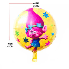 BINGTIAN 50pcs Trolls balloons balloons helium foil balloon metallic balons infantil wedding balloon baby shower(China)