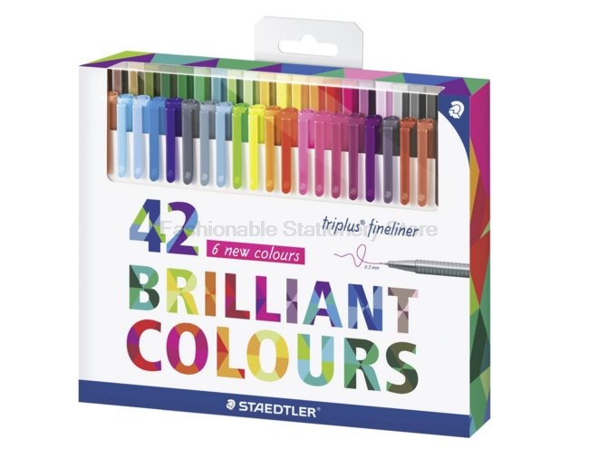 STAEDTLER 334 C42 42 colors 0.3mm Art Marker Pens for Painting $ writing Stationery Office accessories School supplies<br>
