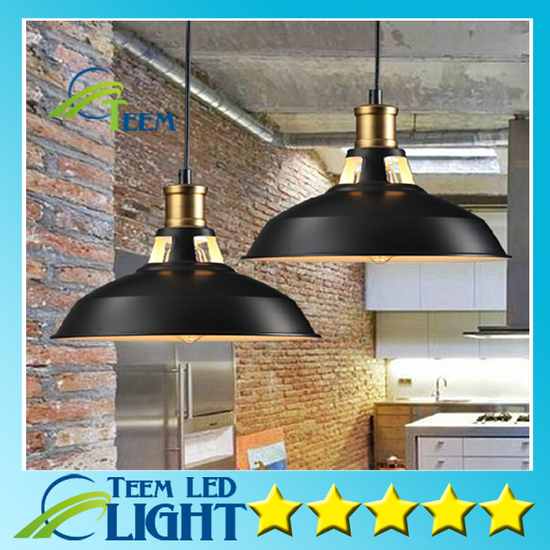 Industrial Pendant Lights Vintage Pendant Lamp Edison Retro Hanging Lampshade Lighting Restaurant /Bar/Coffee Shop Luminarias<br>