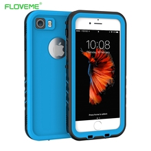 FLOVEME iPhone7 Waterproof Case for iPhone 7 Water Proof Cover Sports Diving 360 Degree Protection Phone Coque for iPhone 7 Capa(China)