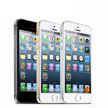 Used Unlocked Apple iPhone 5S 16GB/32GB ROM IOS GPS GPRS A7 IPS LTE Cell Phone(China)