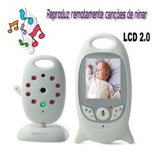 2.0 inch baba electronics sem fio baby monitor 2 way talk Temperature monitor Lullabies IR Night vision VOX video baby monitors