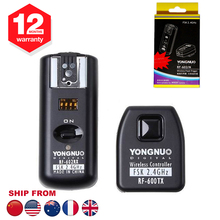 Yongnuo RF-602 RF602 N 2.4GHz Wireless Remote Flash Trigger With Receivers For Nikon D3 D50 D60 D80 D90 D200 D700 D5100 D5300(Hong Kong)