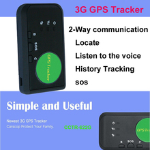 Tracker Portable Kid Older personal Locate Listen sound Call & talk toTracker sos Life Time Free Platform Charge fee 3G Car GPS(China)