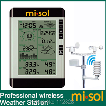 misol / Pro Wireless Weather Station with PC connection, wind speed, weather forecast(China)