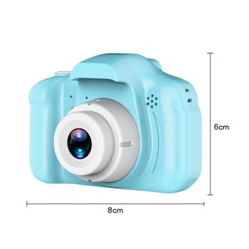 2 Inch HD Screen Chargable Digital Mini Camera Kids Cartoon Cute Camera Toys Outdoor Photography Props for Child Birthday Gift 6