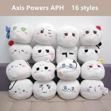 30 pcs/lot Hetalia: Axis Powers plush toys Anime Heitaliya APH USA Russia CN JP plush dolls pillow 16 styles shipping by EMS(China)