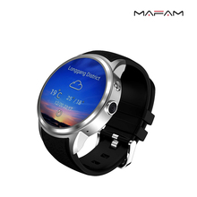 MAFAM MF6 Smart Watch Phone with Android 5.1 os MTK6580 1GB + 8GB support SIM card MP3 Wifi bluetooth GPS smartwatch