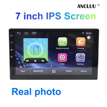 7 inch 2 din android 6.0 car dvd player GPS Navigation android car radio stereo headunit with bluetooth mirror link IPS screen(China)