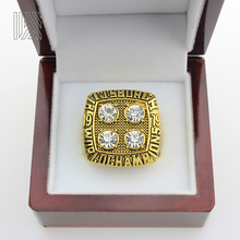In Stock and fast ship The best select for businessman 1979 Pittsburgh Steelers Championship Ring Terry Bradshaw Super Bowl(China)