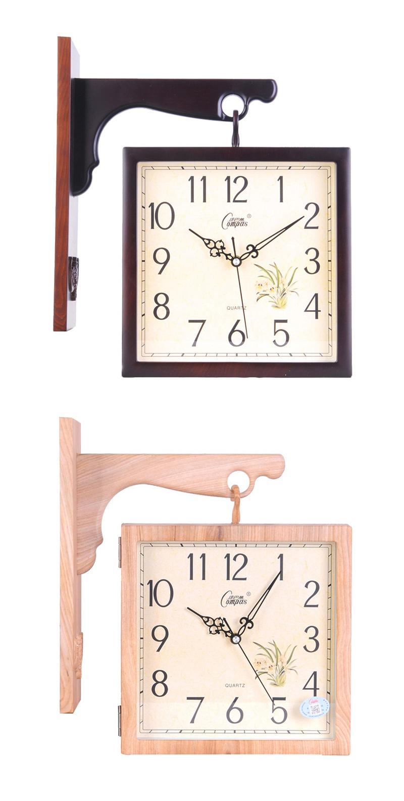 Wall Clock Wall Clock Wood Digital Wall Clock Led 3d Led Wall Clock Barber Shop Modern Clock Wood Clock Wall Diy Clock Watch (9)