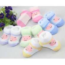 Infants Baby Socks Boys Girls Toddler Bear Design Cotton Lovely Ankle Socks Three-dimensional Boots
