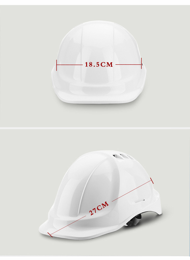 Safety Helmet Hard Hat Work Cap ABS Material Construction Protect Helmets High Quality Breathable Engineering Power Labor Helmet (11)