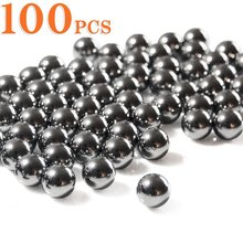 100pcs 6mm Professional Slingshot Ammo Steel-ball Outdoor Products Slingshot Bullets High Quality Archery Hunting Shooting