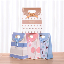 12 pcs Festival Packing Box Sticky Paper Gift Bag for Wedding,birthday party Supplies Christmas Gifts package