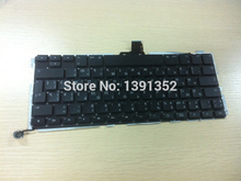 Laptop replacement parts Original Russian keyboard for Apple Macbook pro a1278 Russian keyboard layout