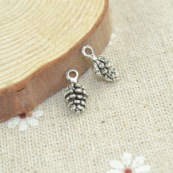 50PCS Tibetan Silver Alloy Cross Pendants Charms Metal Pendants Jewelry 20x10mm