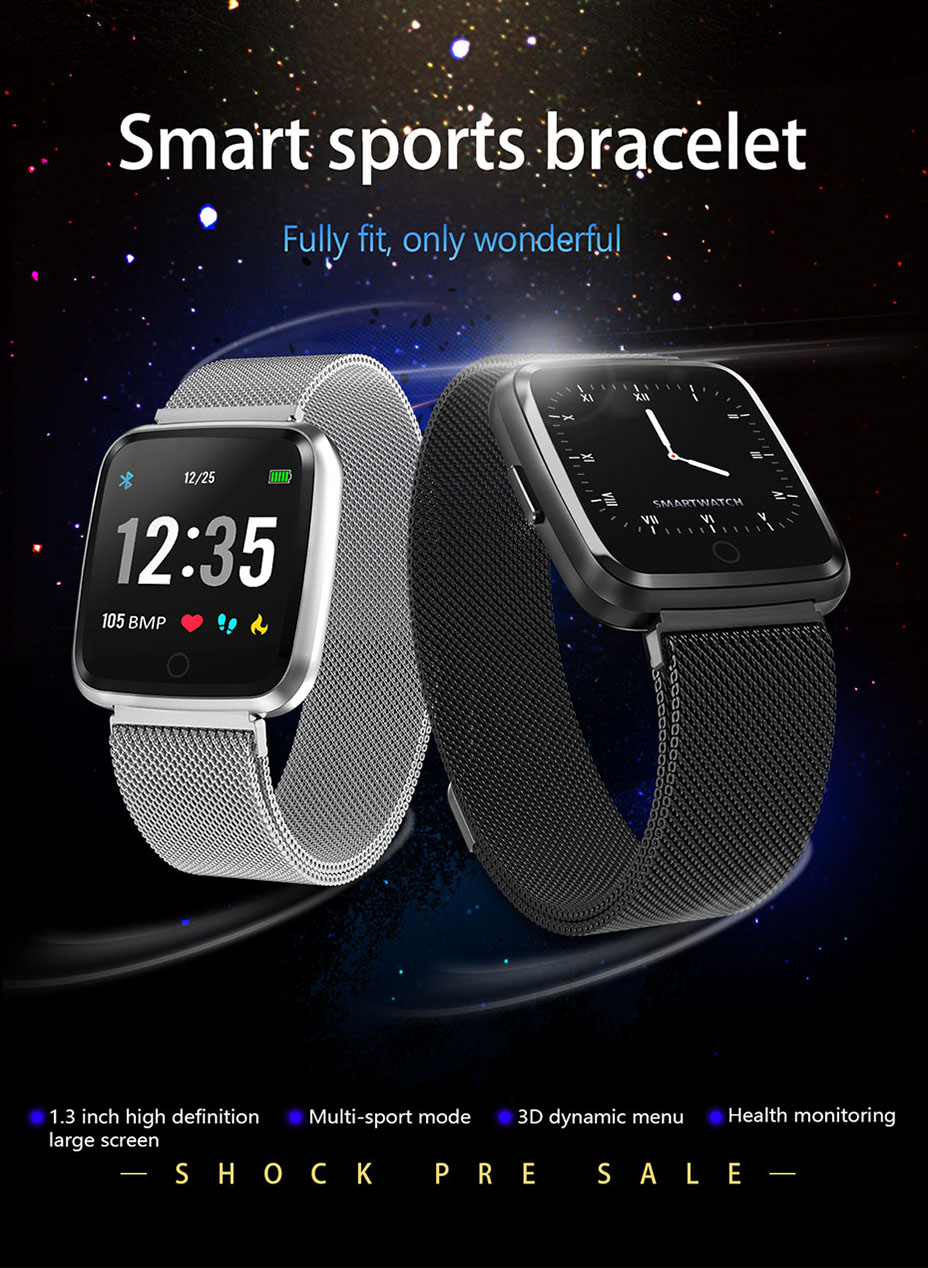 COLMI Full screen multi-touch Smart watch IP67 Waterproof Fitness Tracker Heart Rate Monitor Clock Smartwatch For Android IOS_01