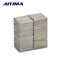 AIYIMA 50pcs 10*5*2mm Cuboid Magnet 10x5x2 Rare Earth Neodymium Magnets 10mm*5mm*2mm Counter Magnetic Tape Crafts Magnetite