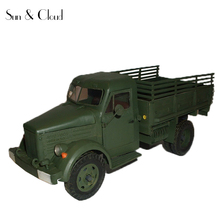 1:25 3D Soviet Truck GAZ-51 Paper Model Second World War Assemble Hand Work Puzzle Game DIY Kids Toy(China)
