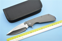 XS EDC- micro EDC titanium alloy knife hunting high quality outdoor camping EDC pocket tool(China)