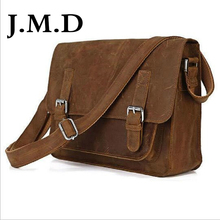 J.M.D 100% Fashion Cowhide Leather Bag Cross Body Handbags Sling Bag Shoulder Messenger Bag 7089(China)