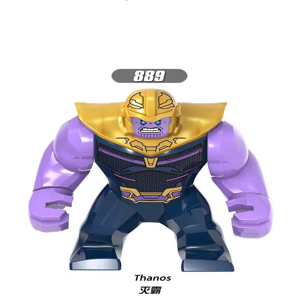 Legolingly Super Heroes Thanos Black Dwarf Figure Set Thanos Infinity Glove Building Blocks Marvel Blocks Set Toys for Children (4)