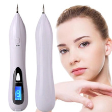 NEW LCD Laser Freckle Removal Machine Skin Mole Removal Plasma Pen Dark Spot Remover Tattoo Wart Tag Removal Home Beauty Device(China)