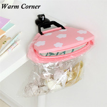 Hanging Kitchen Cupboard 1 PC 3 Colors Cabinet Tailgate Stand Storage Garbage Bags Holders & Racks Pink Blue White Nov 30