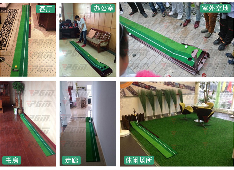 Golf puing green golf mat05