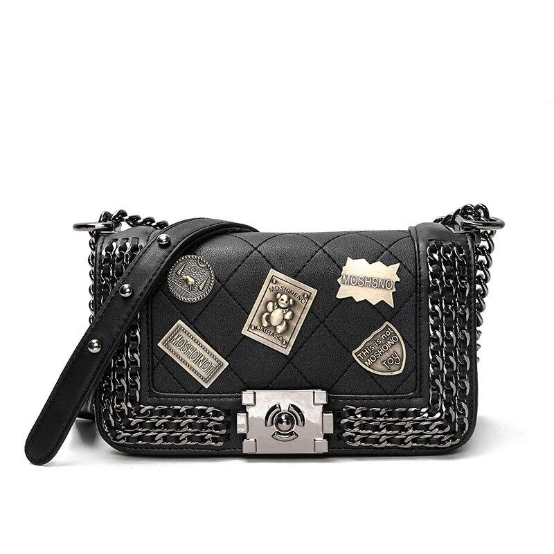 2017 New Fashion Women Messenger Bags High Quality PU Leather Ladies Handbags Women Flap Bags Female Totes Women Shoulder Bags<br>