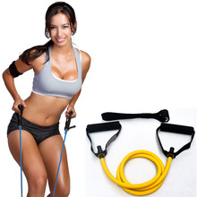 Double Handle Elastic Rope Rally Rope Home Strap Resistance Trainer Arm Armor Yoga Assistant Strength Training Fitness Equipment(China)