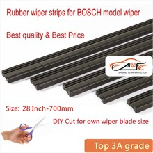 "Top quality auto Car wiper strip strips Vehicle Insert Rubber strip 28"" 700mm 2pcs/lot for bosch car wiper blade accessories"