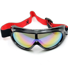 Kids ski goggles Sports snow glasses protective eyewear for children 7-12 years boy girl snowboard cross country skiing