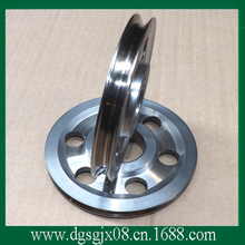 Chrome Oxide plated steel wire guide pulley for wire industry(China)