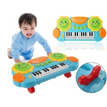 Kids Electronic Piano Toys Keyboard Organ Children Music Toy Instruments Drum Toys Educational Learning Toy Christmas Gifts Baby(China)