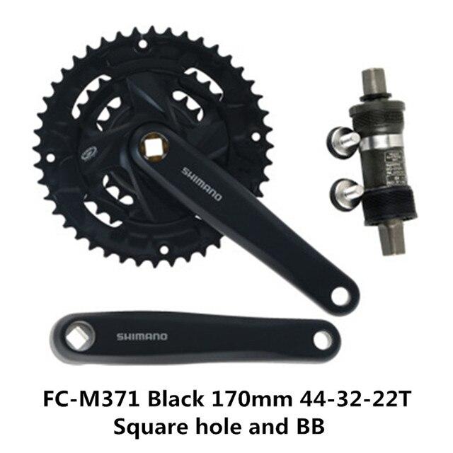 Shimano FC-M391 Acera 9 speed Mountain Bike BIcycle Crankset 44-32-22T 170mm