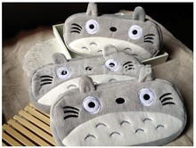 1pcs New cute cartoon cat style plush Pencil bag pen case & Cosmetic bag pouch(China)
